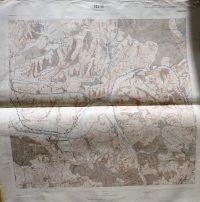 Magyarszék környéke térkép 1967