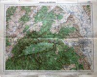 Miskolc Bélapátfalva Bükk térkép 1932