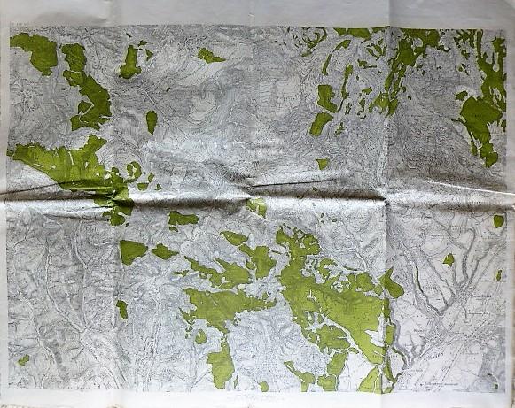 Monor Vajola Erdély térkép 1910-20
