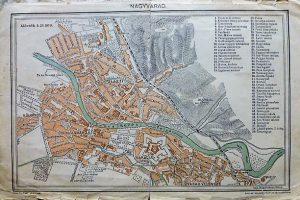 Nagyvárad Erdély térkép 1896