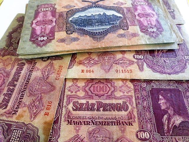 100 Száz  pengő 1930 papírpénz
