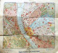Budapest belterülete térkép 1920-as évek
