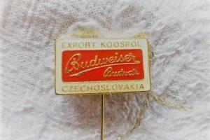 Budweiser Budvar sör jelvény Csehszlovákia