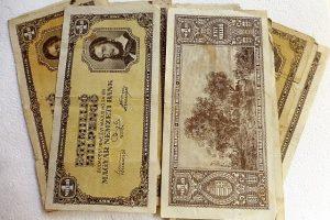 Egymillió milpengő 1946 papírpénz