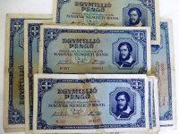 Egymillió pengő magyar papírpénz 1945