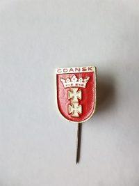 Gdansk Lengyelország jelvény kitűző