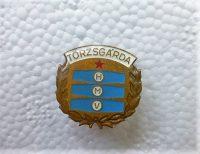 HMV Törzsgárda jelvény kitűző