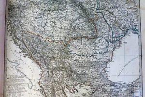 Kelet Európa Magyarország térkép 1867