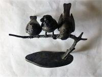 W. Robra 3 madár szobor Berlin