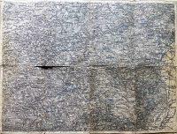 Bécs környéke Baden katonai térkép 1879