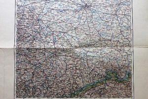 Berlin Brandenburg Bautzen Lipcse Drezda Németország térkép 1898