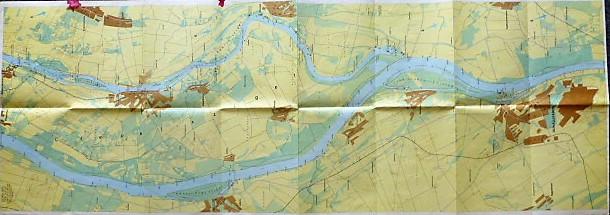 Duna Vizisport térkép 1978