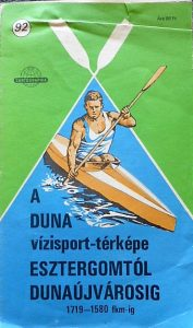 Duna Vizisport térkép 1989