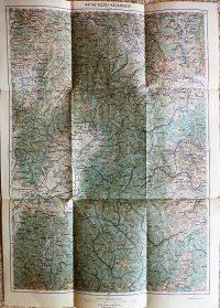 Kézdi Vásárhely Erdély katonai térkép 1915