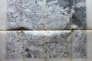 Munkács környéke Felvidék katonai térkép 1911