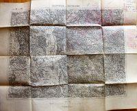 Salgótarján Nagyszécsény környéke  katonai térkép 1910