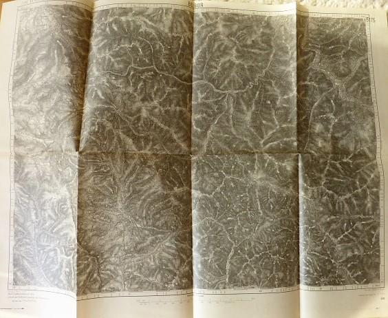 Bélbor Hargita Erdély térkép 1915 Zone 17 Kol XXXIII