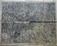Gyöngyös Verpelét Mátra térkép 1928