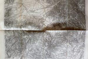 Gyergyó Gyergyószentmiklós Hargita Erdély régi térkép 1912