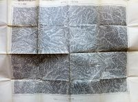 Gyetva környéke Felvidék térkép 1911