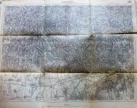 Pécs Mecsek környéke katonai térkép 1915