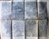 Szerednye Turjaremete Kárpátalja térkép 1910