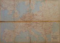 Európa hátoldalán NDK vasút áttekintő térkép