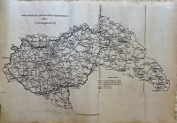 Magyarország Főközlekedési Közútvonalai 1944