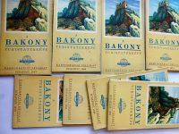 Bakony turista térkép
