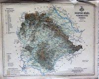 Belovár Körös Vármegye Térkép 1893