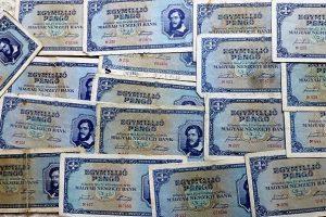 Egymilló pengő 1945 magyar papírpénz