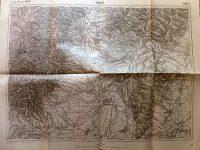 Földvár Szászmagyaros Brassó Megye Erdély régi térkép 1914