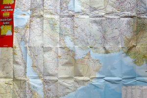 Közel kelet térkép 1993-94