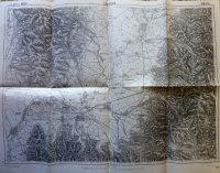 Kovászna Erdély térkép 1914