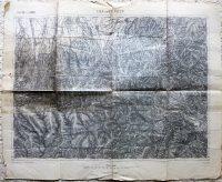 Lisza Sebes Zernest Brassó Megye Erdély térkép 1890