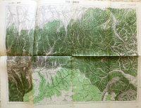 Lisza Sebes Zernest Brassó Megye Erdély térkép 1916