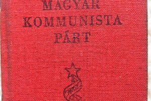 Magyar Kommunista Párt tagkönyv 1948