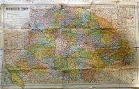 Magyarország Térkép a trianoni határok feltüntetésével 1920-as évek