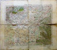Szeged Debrecen térkép 1932