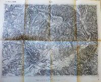 Bilke Cserhalom Szt Miklós Kárpátalja térkép 1911