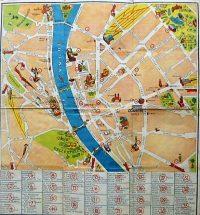 Budapest belváros térkép 1930-as évek