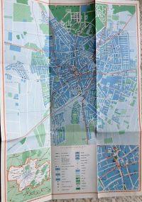 Debrecen város térkép 1965