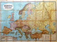 Európa politikai térkép 1941 Dr.Schmidt Tibold
