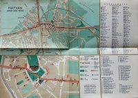 Hatvan város térkép 1966
