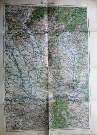 Komárom Esztergom Nyitra 1918 térkép