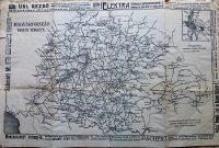 Magyarország Vasúti Térkép 1900-as évek