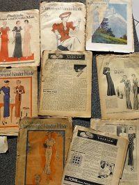 Német divatmagazin 1920-30-es évek