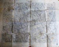 Sárbogárd környéke katonai térkép 1939