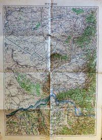 Versecz környéke térkép 1916