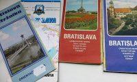 Bratislava Pozsony szlovák térkép